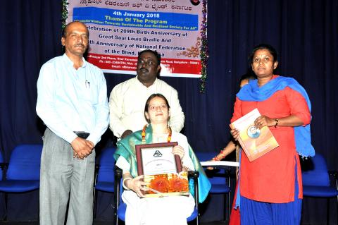 Proud Women of Community title to Ms. Minal Singhvi