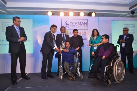 Equal Opportunity Award to Mr. Danish Mahajan